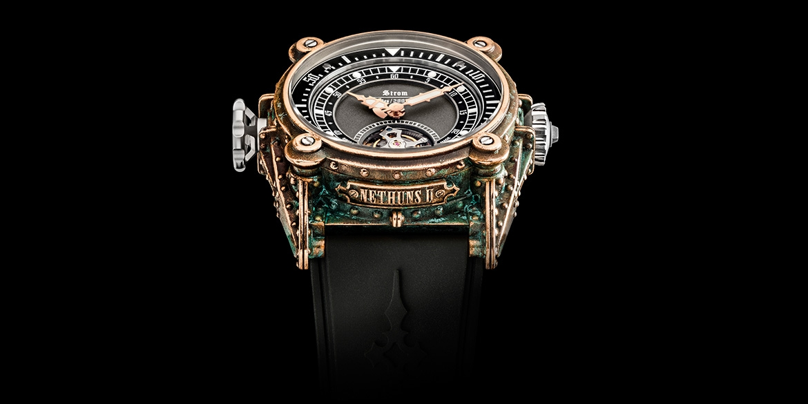 AES Tourbillon (Bronze) AC16-01.BR.T Header